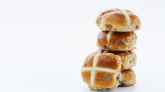 Brioches hot cross buns