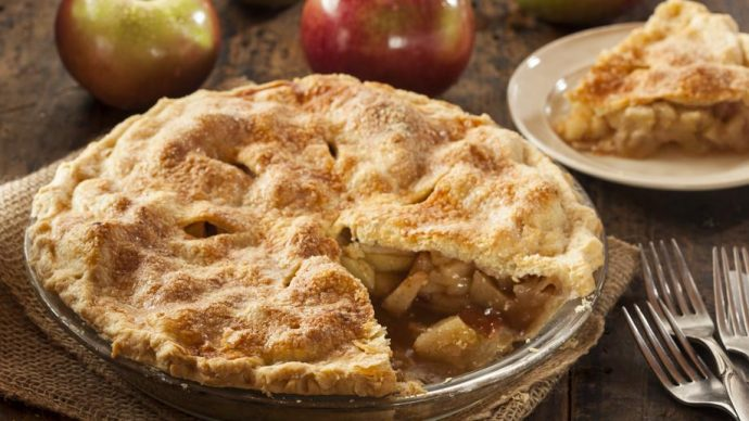 La traditionnelle Apple pie