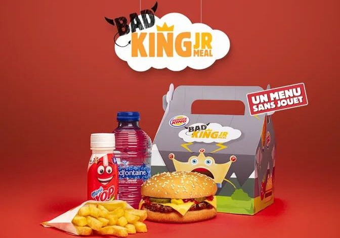 Burger King lance le Bad King… un menu enfant sans surprise pour les enfants pas sages!